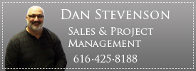 Dan Stevenson, Under Deck Sales and Project Management